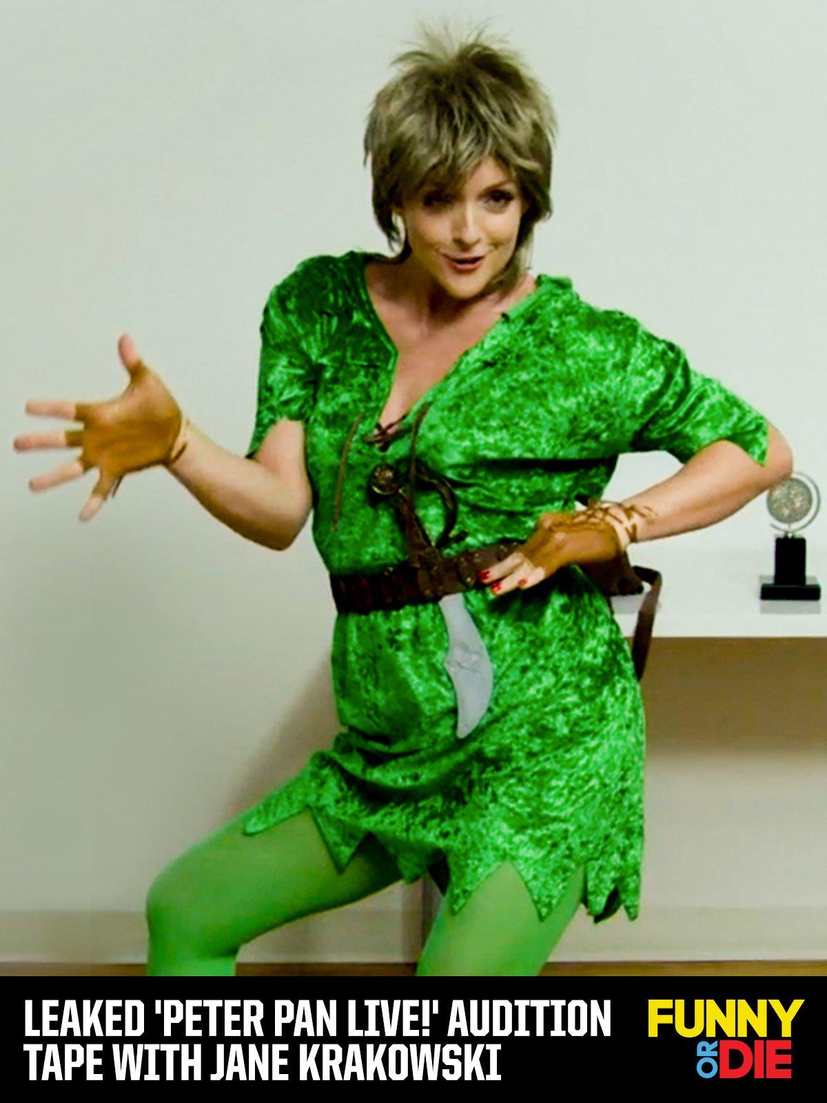 Leaked 'Peter Pan Live!' Audition Tape with Jane Krakowski