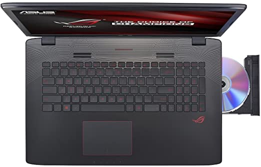 Asus ROG GL752VW-T4112T 17 Zoll Gaming Notebook