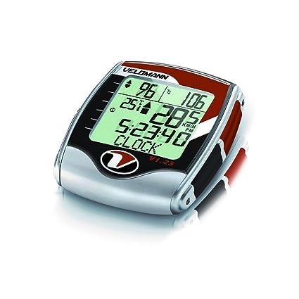 Velomann Compteur vélo avec cardiofréquencemètre 23 fonctions