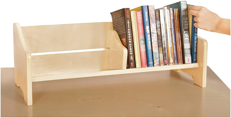 Book Rack Display Table Organizer Stand Holder Shelf