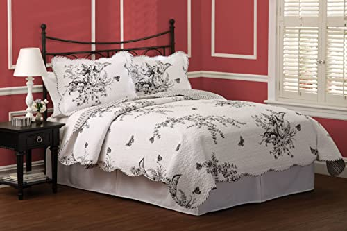 Lifestyle Evans Meadow 3-Piece Quilt Set