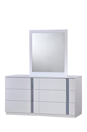 Global Furniture Jody Dresser, White