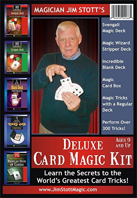 Top Deck Cards:  Jim Stott's Deluxe Card Magic Kit Video Review