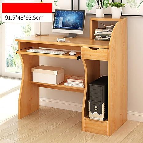 Anjcd Mesa de trabajo Escritorio Mesa de trabajo Mesa de aprendizaje Mesa de trabajo Multifunción Workbench 90 * 48 * 72cm ( Color : 3# )