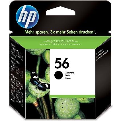 HP PSC 1210 - Original HP C6656AE / Nr 56 - Cartouche d'encre Noir -