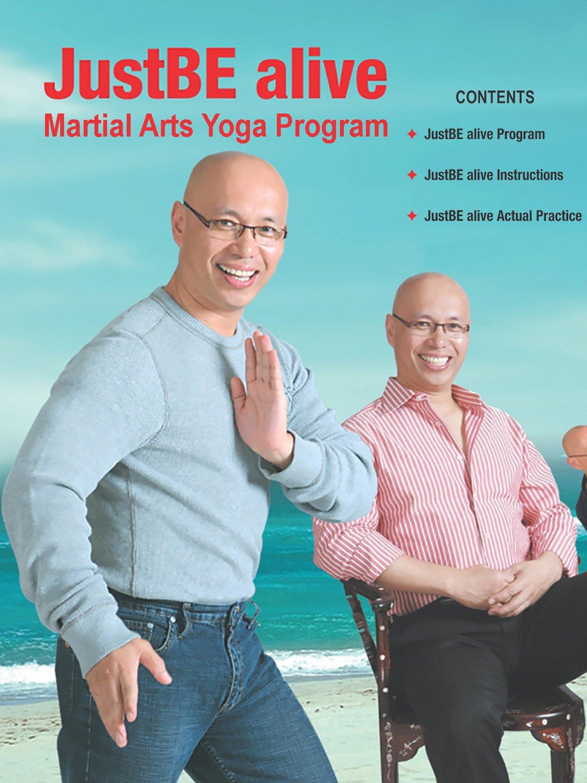 JustBE alive Martial Arts Yoga Program