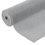 BNYD Drawer Liner Non Adhesive Kitchen Shelf Liner, Anti-Slip Mat Cabinet Grip Liner 12 in. x 20 ft. (Grey) (Color: Grey)