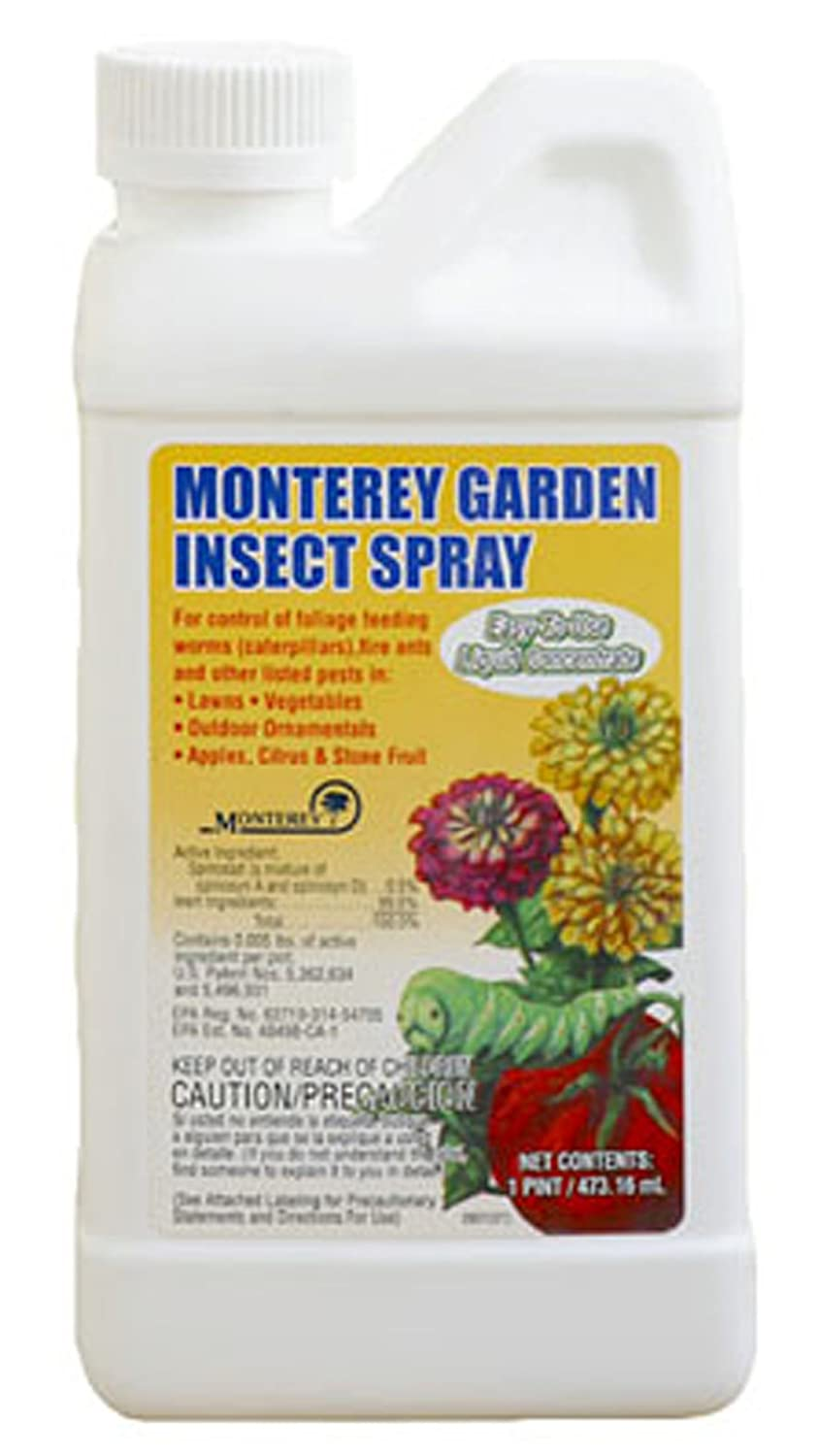 Monterey Spinosad Organic Garden Insect Spray Pint Concentrate Lg6150 New F Ebay