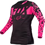 2016 Fox Racing Womens 180 Jersey-Black/Pink-XS (Color: Black/Pink, Tamaño: X-Small)