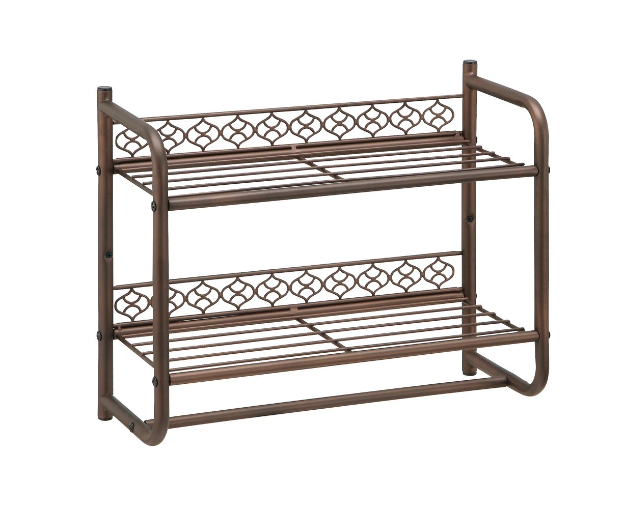 great wall mounting 2 tier shelf with towel bar new ships. Black Bedroom Furniture Sets. Home Design Ideas