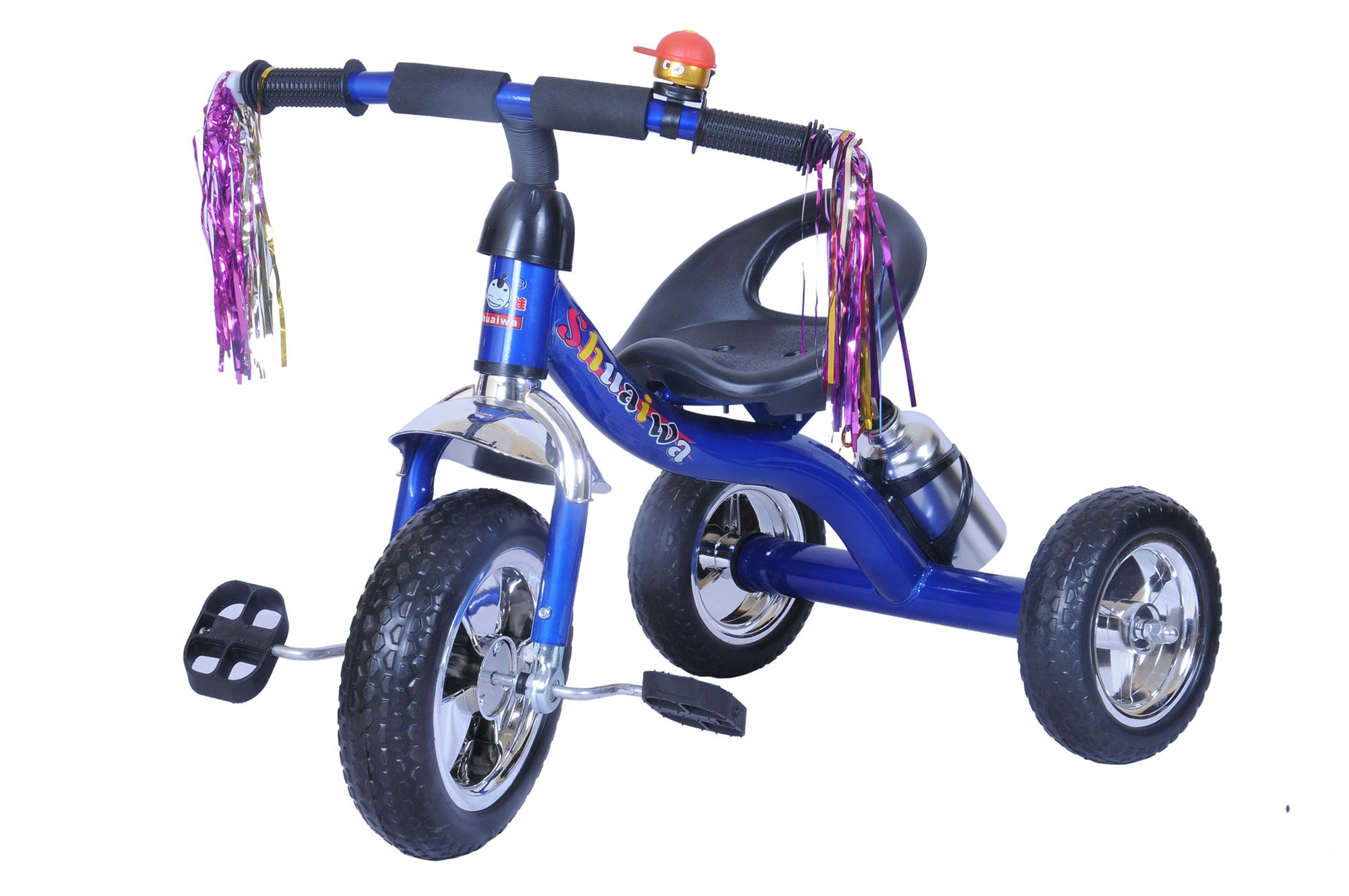 Happy Kids Happy Kids Fashionable and Sturdy Tricycle with Water Sipper