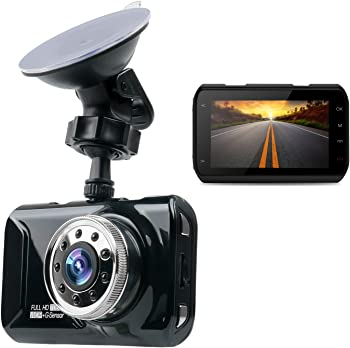 MorWell HD Dash Camera