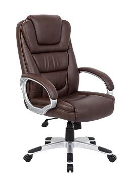 Nicer muebles® piel sintética de respaldo alto ejecutivo silla de oficina ergonómica tarea silla