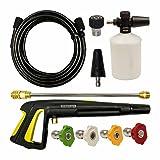Stanley PW909300K 10 Piece Pressure Washer Accessories Kit, Black (Color: Black)