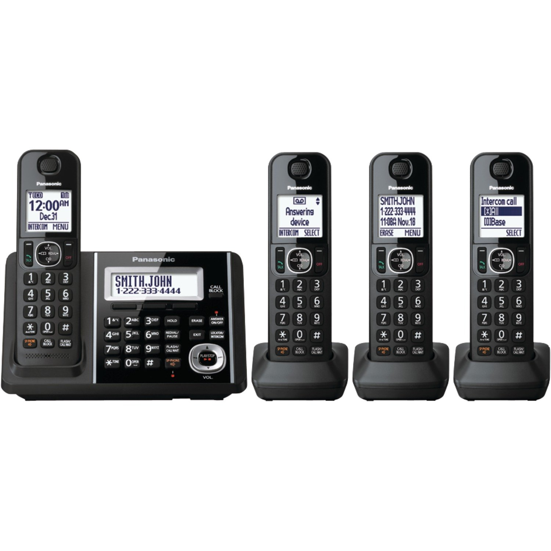 Telefonos-fijos Panasonic, Panasonic KXTGF344B Dect 4 auricular teléfono fijo en Veo y Compro