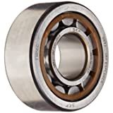 SKF NU 2305 ECP Cylindrical Roller Bearing, Single Row, Removable Inner Ring, Straight Bore, High Capacity, Normal Clearance, Polyamide/Nylon Cage, Metric, 25mm Bore, 62mm OD, 24mm Width