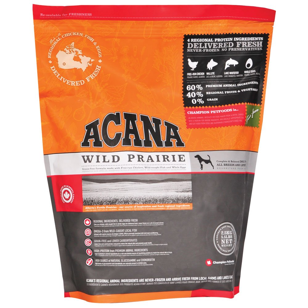 Best dog food for beagles dont skimp on the protein for Acana wild prairie dog food