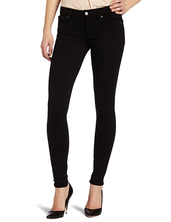 7 For All Mankind Women's Double Knit Skinny Pant