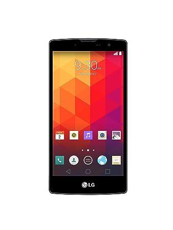"""LG Magna Smartphone libre Quad Core a 1.3 GHz Bluetooth Appareil photo avant de 5 mégapixels Android 5.0 Mémoire RAM 1 Go Mémoire interne 8 Go Couleur : titane 5"""""""