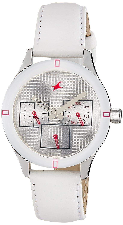 b0340cc77 Flat 40% off On Fastrack Monochrome Analog White Dial Women's Watch
