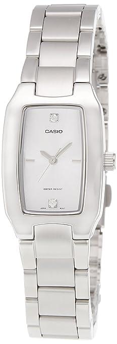 Casio Enticer Analog White Dial Women