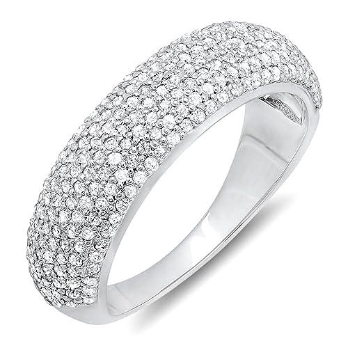 1-00-Carat-ctw-10k-Gold-Round-Diamond-Anniversary-Wedding-Band-Ring-1-CT