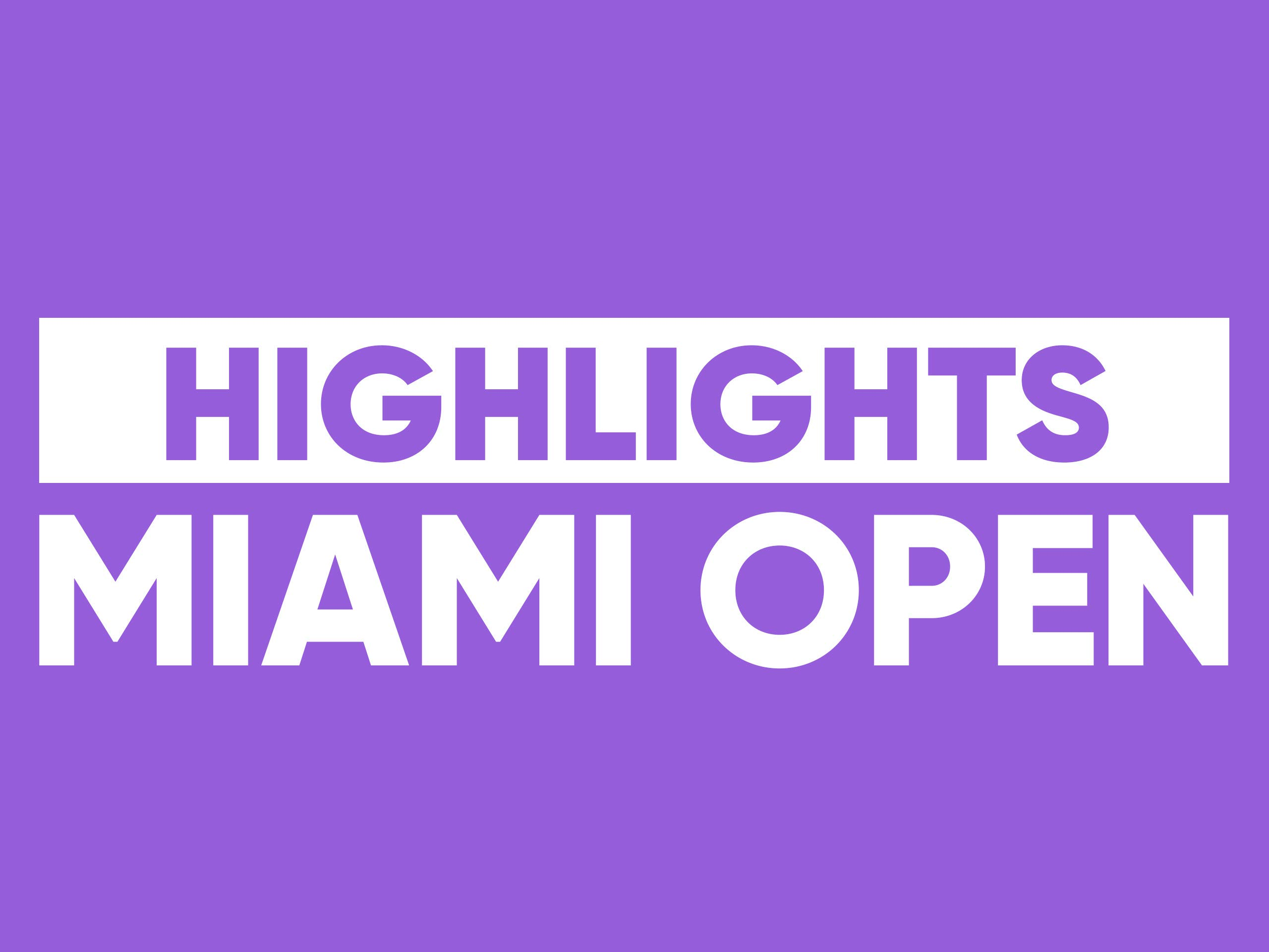 2019 Miami Open presented by Itau, ATP Masters 1000 - Day 4 on Amazon Prime Instant Video UK