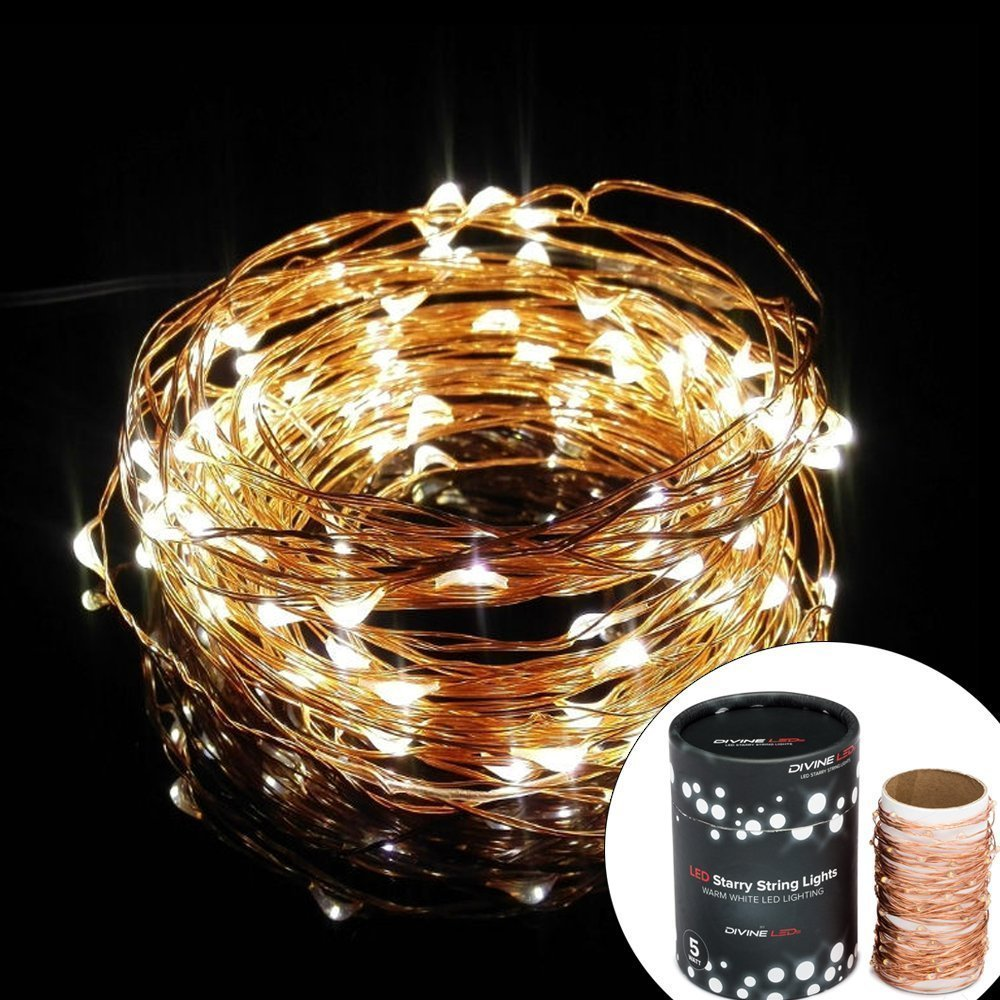 Gorgeous String Lights, Copper Wire Starry String Light, Soothing Décor, Elegant Rope Light Suitable for Christmas, Weddings, Parties Waterproof (33