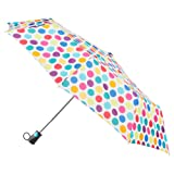 totes Women's Sunguard One-Touch Auto Open Umbrella with Neverwet, Judy Garland (Color: Judy Garland, Tamaño: One Size)