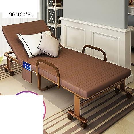 Cama Plegable/Cama Individual/Reposo En Cama/Silla De Salón Plegable Simple/Siesta De Oficina/Sofá Invisible-O