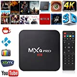 TRANSMISIÓN DE MEDIOS MXQ PRO 4K ANDROID SMART TV BOX HDMI WIFI