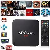 TRANSMISIÓN DE MEDIOS MXQ PRO 4K ANDROID SMART TV BOX HDMI WIFI