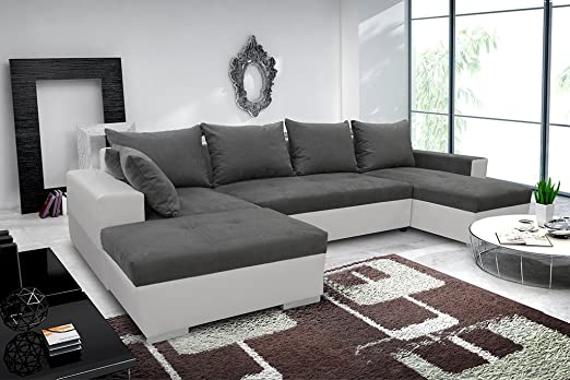 Bigsofa CLIO piacevole paesaggio divano angolare Couch Sofa Divano Divano Letto 01324