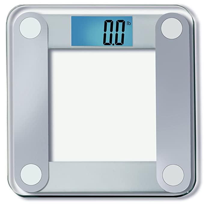 "Precision Digital Bathroom Scale w/ Extra Large Lighted Display, 400 lb. Capacity and ""Step-On"" Technology [2016 VERSION]"