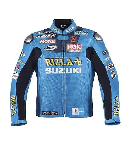 Suzuki Rizla Moto Veste de cuir