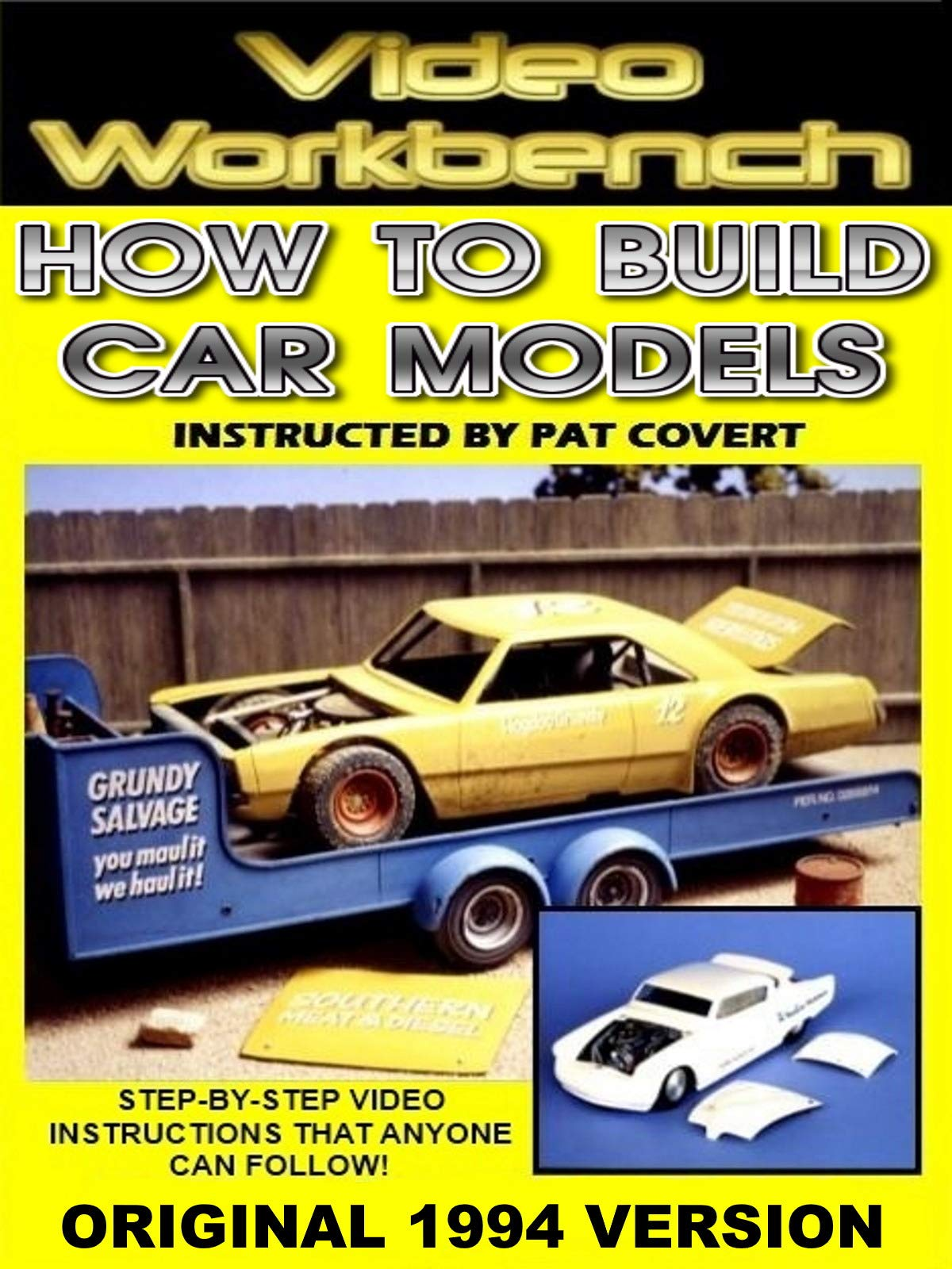 Video Workbench: How to Build Car Models (1994 Original)