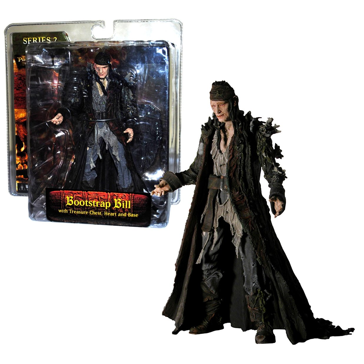 NECA Disney Movie Series Pirates of the Caribbean 2 Bootstrap Bill