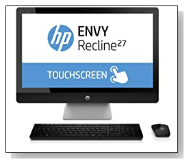 HP ENVY Recline 27-k151 27 inch TouchSmart All-in-One Desktop PC Review