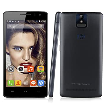"""THL 2015 Smartphone Mobile Téléphone Tactile Débloqué ID Android 4.4.4 MTK6752L Octa base 1.7GHz Écran 5.0 """"IPS FHD OGS Dix Points FHD Écran Tactile 1920 * 1080 Pixels 4G Dual SIM GSM / WCDMA / FDD-LTE ROM de"""