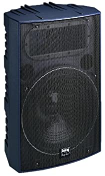 Professional PA Speaker Cabinet, 600WMAX, 8 Ohm (PAB-515/BL)