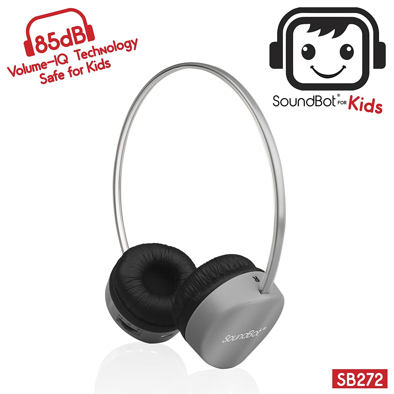 Amazon - SoundBot SB272 Bluetooth 4.1 Headphones for Kids - $10.99
