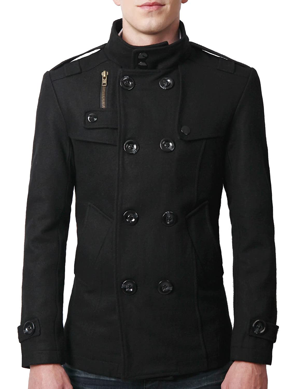 Pea Coat Coats: manakamanamobilecenter.tk - Your Online Men's Outerwear Store! Get 5% in rewards with Club O! overstock anniversary sale up to 70% off* + FREE SHIPPING* Shop Now > Kenneth Cole New York Mens Pea Coat Wool Long Sleeves - XL. New Arrival.