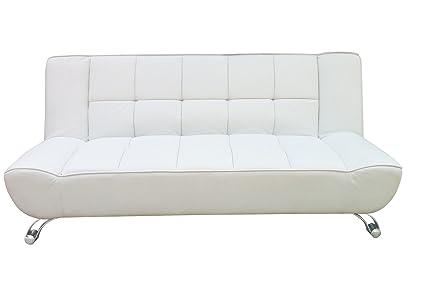 LPD Vogue White Sofa Bed