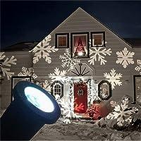 SHHE Christmas Snowflake LED Projector Lights