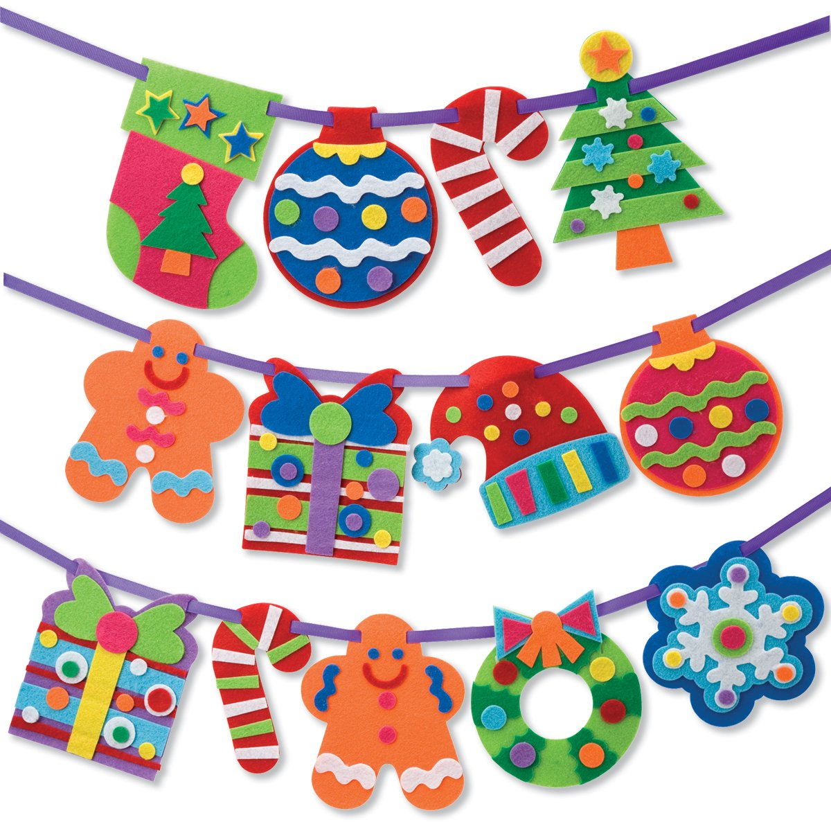 Craft, It's A Christmas Banner Decoration Kit