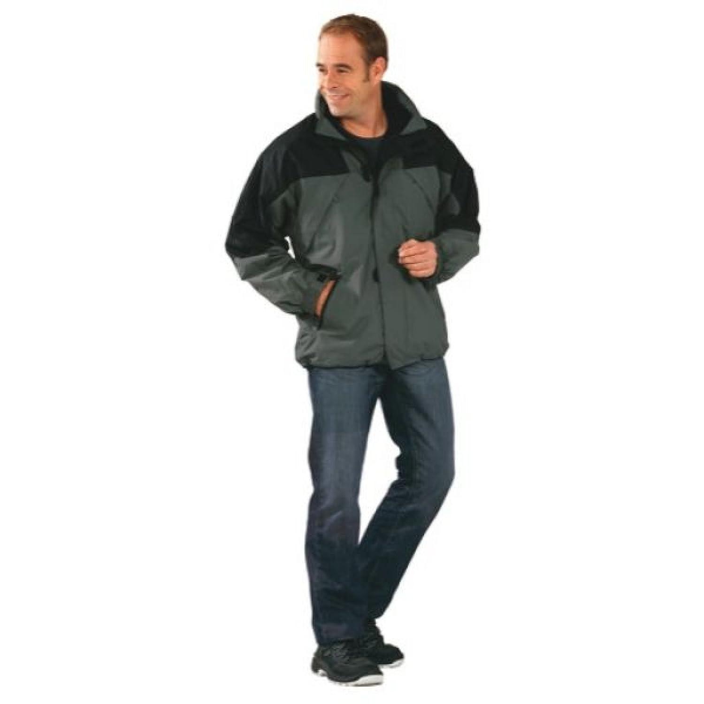 PLANAM Redwood Jacke 2 in 1 – grau/schwarz – Größe: XXL XXL,Zink/Schwarz online bestellen