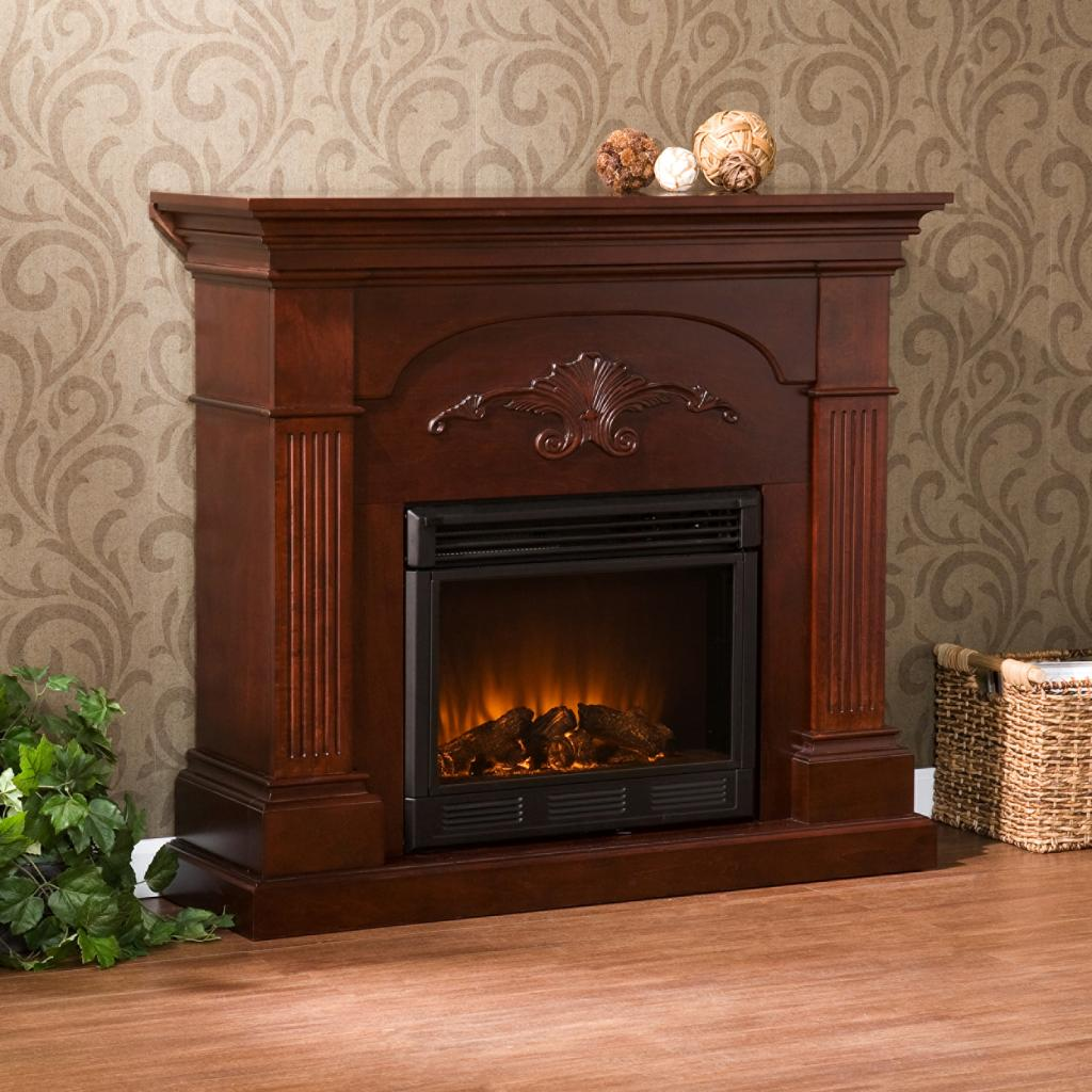 Ventless Fireplace: SEI Sicilian Harvest Electric Fireplace