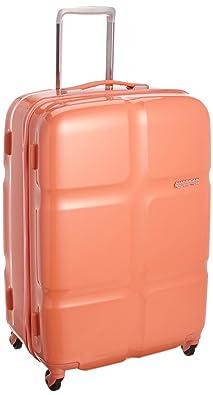 【クリックで詳細表示】[アメリカンツーリスター] AmericanTourister Cube POP / キューブポップ スピナー68 (68cm/74L/3.9Kg) (スーツケース・キャリーバッグ・TSAロック・大容量・軽量・ファスナー・保証付き) S46*40002 40 (コーラル): シューズ&バッグ:通販