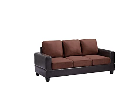 Glory Furniture G306A-S Living Room Sofa, Chocolate