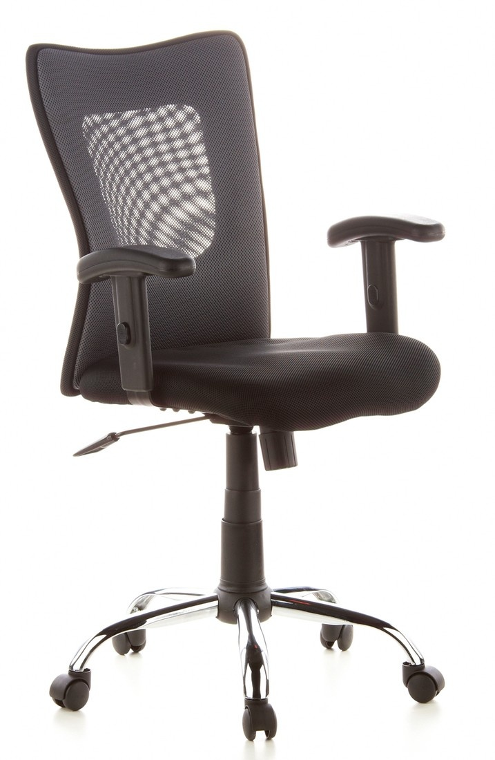 Buerostuhl24 666620 City 60 Swivel Chair Mesh, Black / Grey       Customer reviews and more information